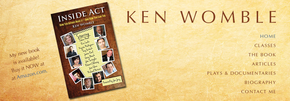 Ken Womble's home page banner